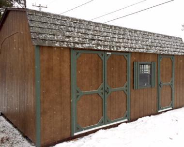12 x 20 Dutch Barn - Space Saver/Workshop